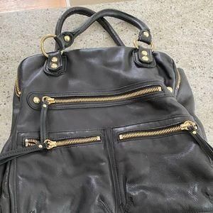 Linea Pelle  Black Handbag. Great condition.